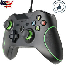 For Microsoft Xbox One PC USB Wired Game Controller Gamepad Joystick Green Line