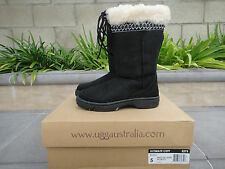 Comfy UGG Ultimate Cuff Style 5273, Black Suede, Wmn's US Sz 5, Retired & HTF!