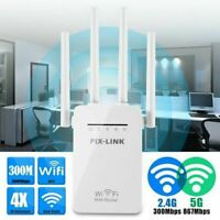 Dual-Band Wifi Extender Repeater Wireless Router Range Network Signal Booster