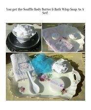Bath Set-Whipped Body Butter & Foaming Bath Whip Soap