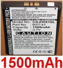 Batería 1500mAh para SONY ERICSSON Xperia X1, X10, X10a, X10i, X1a, X1c, X1i