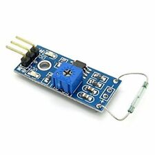 Reed Sensor Magnetic Switch Module Normally Open LM393 Comparator Arduino  AVR