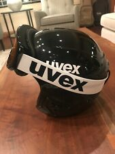 Uvex Race+/Ski Helmet (55-56) w/matching Uvex Goggles
