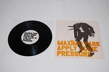"MAXIMO PARK - APPLY SOME PRESSURE 10"" Vinyl Record 2005 Warp 10WAP185X 4 Song UK"