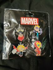 SDCC 2015 Marvel Skottie Young Avengers Pin Set Black Widow Thor Hawkeye IronMan