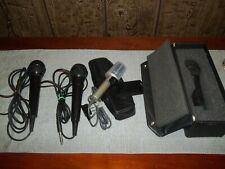 LOT OF MICROPHONES -SONY-N/D 357-TAKY-ION