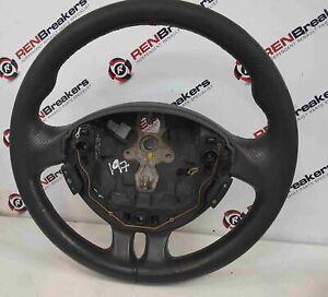 Renault Clio Sport MK3 2005-2012 197 200 Steering Wheel Red Stitching 3/5