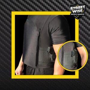 Streetwise Safe-T-Shirt (Ballistic Plate Carrier w/Holster)