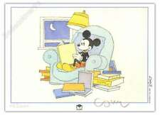 Ex-libris COSEY Mickey lit 100ex signé 15x21