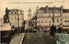 CPA Angers - Le Pont du Centre Statue de Beaurepaire (296880)