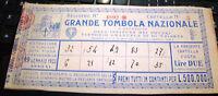 cartella GRANDE TOMBOLA NAZIONALE 1932 pro IST. POVERI V.E. III° TRIESTE