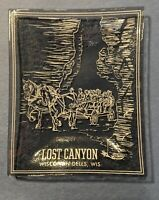 Vintage Lost Canyon - Wisconsin Dells, Wisconsin Collectible Small Ashtray