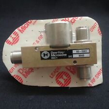 DowKey Microwave 60-2301 RF Switch Coaxial Relay 28 VDC NOS