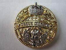 Pin Treue Dienste Preussen Kaiserreich Monarchie Krone WWII WK2 WK1 WH Wehrmacht