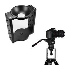 65mm 75mm Half Ball Flat to Bowl Adapter Converter for Camera Tripod Fluid Head
