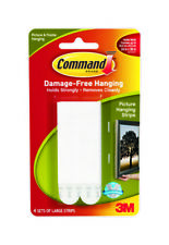 3m Command Large Picture Hanging Strips Pk4 17206