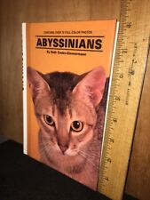 KW: Abyssinians by Ruth Cooke-Zimmerman (1992, Hardcover)