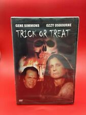 Trick or Treat (DVD,2003) Gene Simmons & Ozzy Osbourne / Brand New! / Region 1