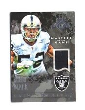 Khalil Mack 2015 Panini Gridiron Kings, Masters of the Game, (Materials),/249