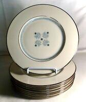 "8 Lenox Charmaine 8 3/8"" Salad Plates"