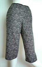 £119 Designer TED BAKER Kimora tweed culottes shorts size 8 --NEW WITH TAGS--
