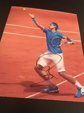 RAFAEL NADAL SIGNED AUTOGRAPH 8x10 PHOTO TENNIS CHAMP FRENCH OPEN IN PERSON A1