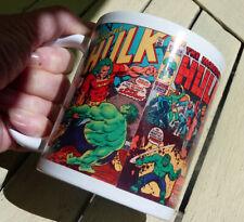 OFFER!! Marvel Comics Hulk Vintage Covers Mug