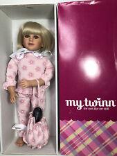 "My Twinn 23"" Posable Doll BEAUTIFUL FACE BLONDE Blue Eyes in Pajamas"
