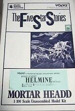 helmine the five star stories mortar headd 1/100 unassembled model kit very rare