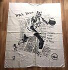 Vtg 1989 Charles Barkley Philadelphia 76ers NBA Cloth Tapestry 46x39 *Htf