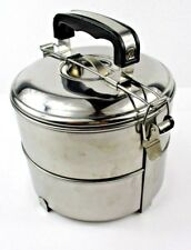 Stainless Steel 2-Tier 6 inch Bento Lunch Box