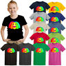 Rainbow Jelly Smiley Emoji Face T-Shirt Youtuber Fans Gift Tee