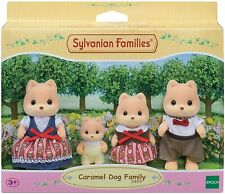 Sylvanian Families 5459 Caramel Dog Family Figurines