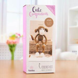 Threaders - Cute Companions Crochet Kit, Monty the Monkey