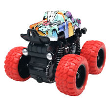 Baby Toys Pull Back Mini Car Large Tire 4 Wheel Inertia Car Gift Toy Red