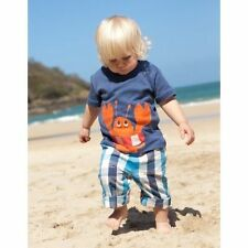 Frugi Checked Trousers & Shorts (0-24 Months) for Boys