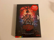 Stranger Things S2 VHS Style Premium A5 Notebook Journal BRAND NEW SEALED