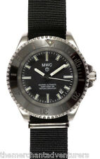 MWC 24 Jewel Auto Submariners/Divers Watch | 300m | Two straps | Tritium GTLS