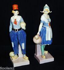 Hn1397 & Hn1398 - Royal Doulton Figurines - Gretchen & Derrick - 1930-1940