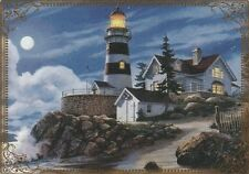 Modern-Wide-Linen-Lighthouses-P4-Lighthouse&Bright Moon-Swap Playing Card
