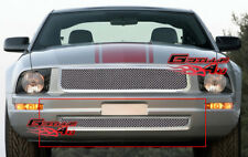 Fits 2005-2009 Ford Mustang V6 Lower Bumper Stainless Mesh Grille