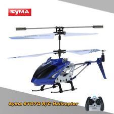 Syma S107G Mini 3,5 Kanal Infrarot RC Hubschrauber Helicopter mit Gyro Blau Z1T9
