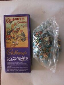 Vintage Gibsons Cadburys Chocolate 1000 Piece Jigsaw Puzzle Unused