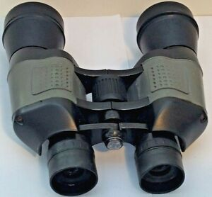 10x50 Full Size Field Hunting Binoculars with Ruby Coated Lenses