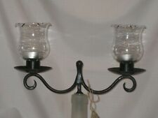 Scrolled Wine Bottle Candelabra Topper For Tealight, Votive or tapered Candle's
