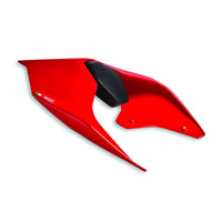 DUCATI SitzbankAbdeckung Sitzdeckel SeatCover Heck rot PANIGALE V2 STREETFIGHTER