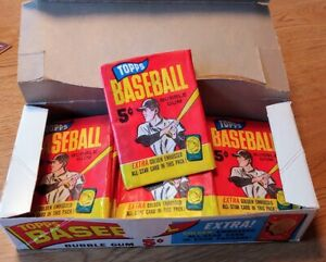 Rare 1965 TOPPS Mint Baseball Cards Original Pack of 5 W/Bonus Gold Embossed 5E