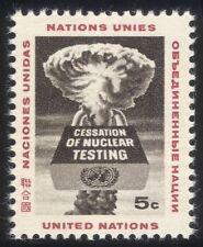 UN/United Nations (NY) 1964 End Nuclear Testing/Atomic/Bomb/Padlock 1v (n33952)