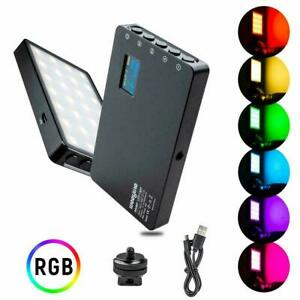 Viltrox RB08P Weeylite Rechargeable LED Video Light RGB 3200k-5600k Lighting