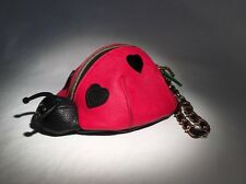 Betsey Johnson NWOT LUCK BE A LADY Ladybug Wristlet Clutch Pouch $48- #039
